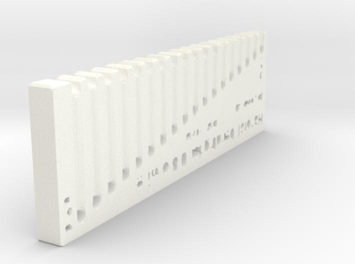Handrail Bending 0.8mm wire 3d printed