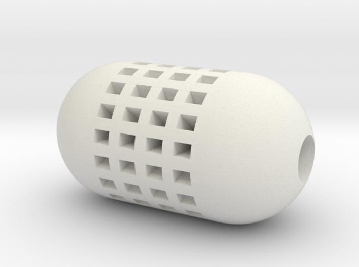 DRAW pendant - tea strainer 3d printed