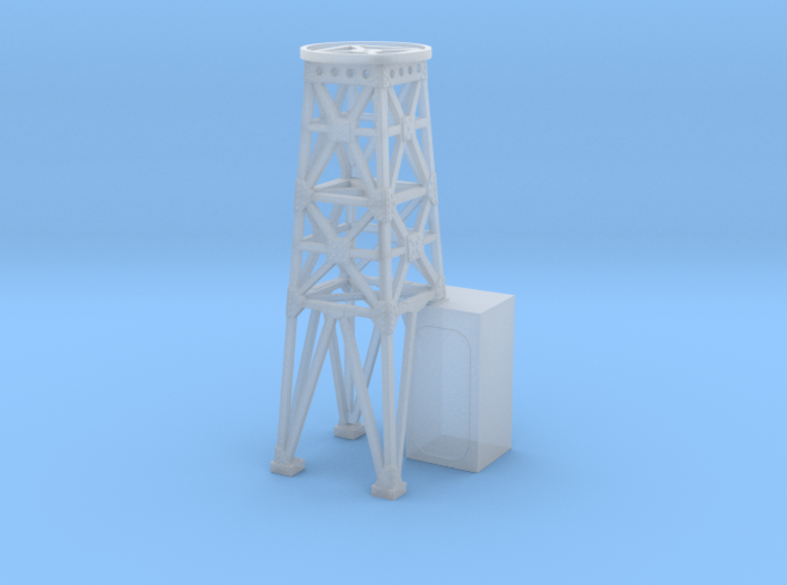1/240 USS Ward Searchlight Tower 3d printed