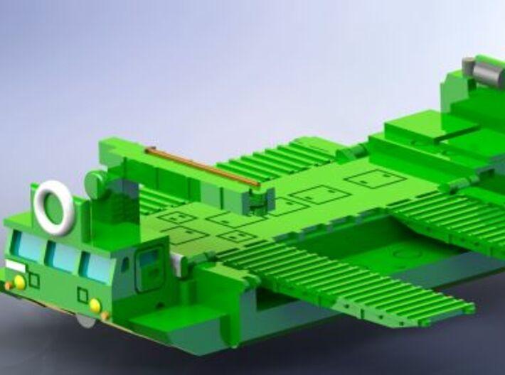 M2 Alligator Amphibious Bridging Vehicle 1/285 6mm 3d printed Add a caption...