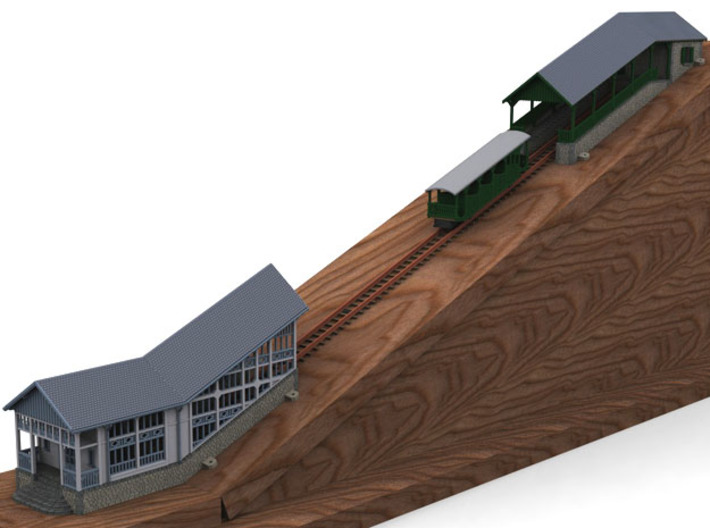 NfunMD22 - Mont Dore funicular 3d printed