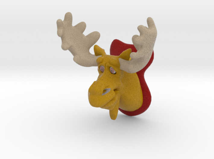 Bull Moose 3d printed