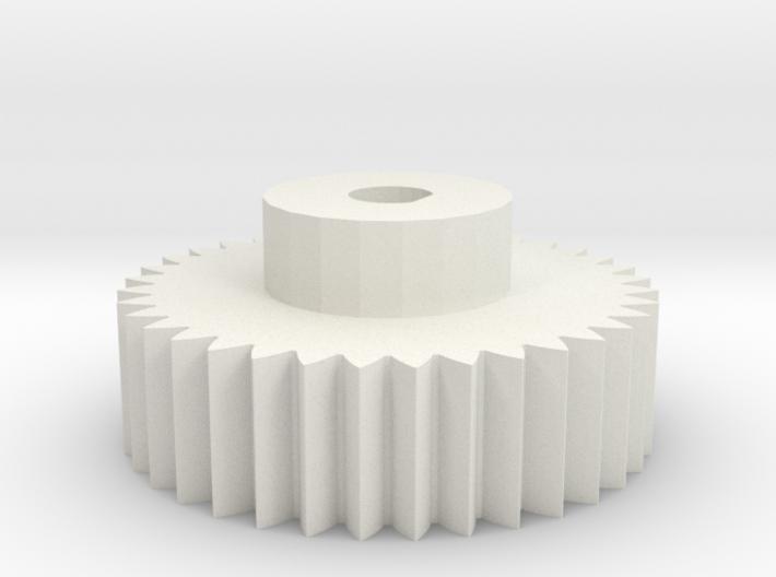 4mm encoder gear 3d printed