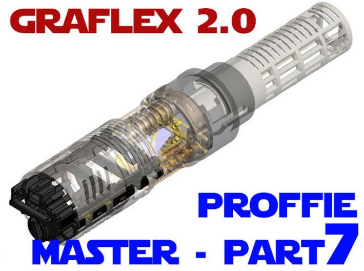 Graflex2.0 - Master Chassis - 7/7 Proffie 3d printed