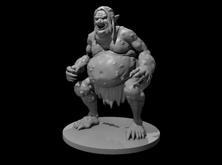 Venom Troll 3d printed