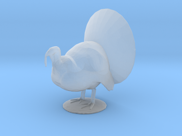 O Scale Tom Turkey 3d printed This is a render not a picture