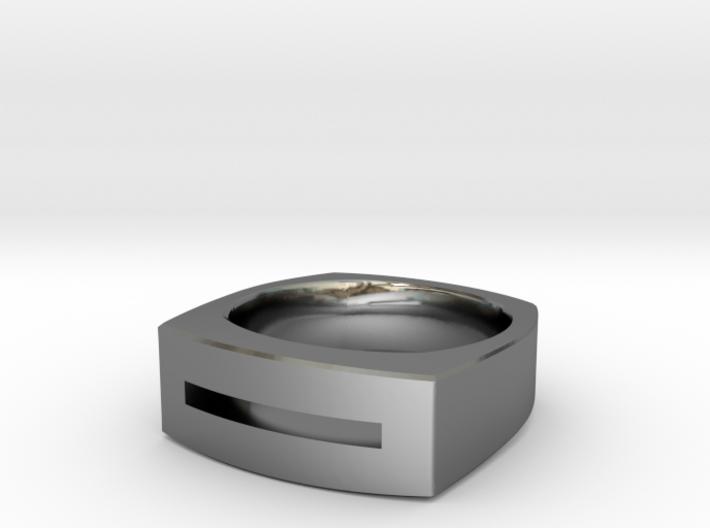 Slot Ring 3d printed