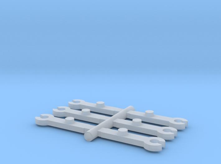 N Scale MRC-Rowa 2-8-4 & 2-8-8-2 Bell Crank 3d printed