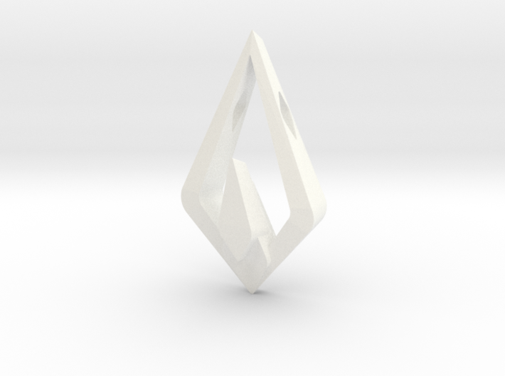 HIDDEN HEART Nimbus, Pendant 3d printed