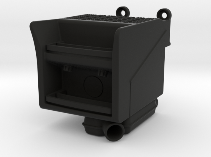 THM 00.4804 Scania batterybox with exhaust 3d printed