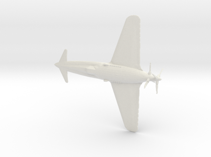 1:144 Henschel P.75 (Gear Down) 3d printed
