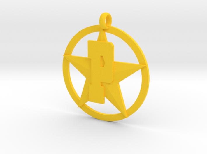 PHS charm - Plains Star 3d printed