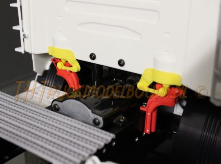 THM 07.4010-11 Rear cabin lock Scania 3d printed
