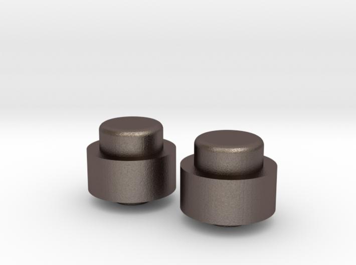 Adjustment Buttons - Metal 3d printed
