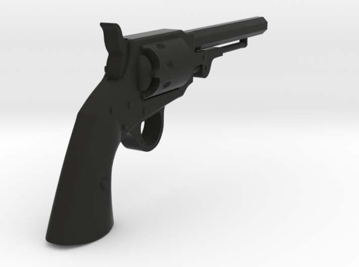 Ned Kelly Gang Colt 1851 Revolver 1:18 Scale 3d printed