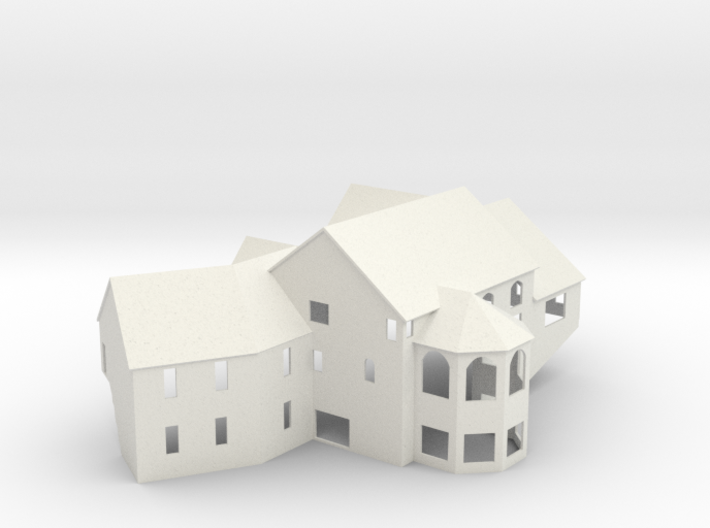New England House - Zscale 3d printed