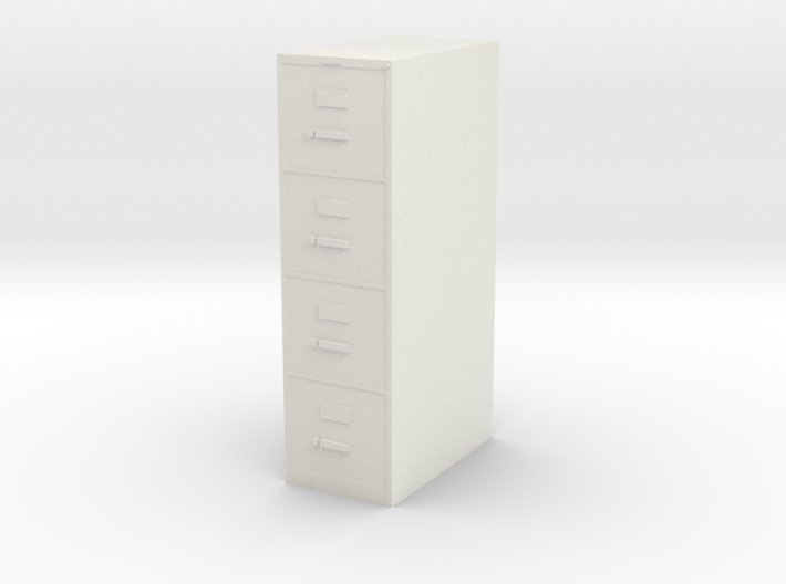 1:24 File Cabinet 3d printed