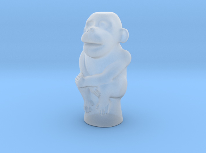 Jade Monkey 3d printed