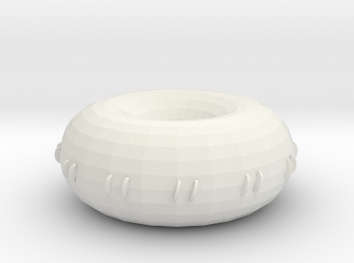 decreased small hole rodin coil 3d printed