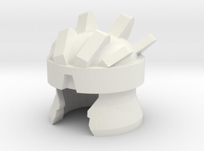 Robohelmet: Extinct Fudge 3d printed