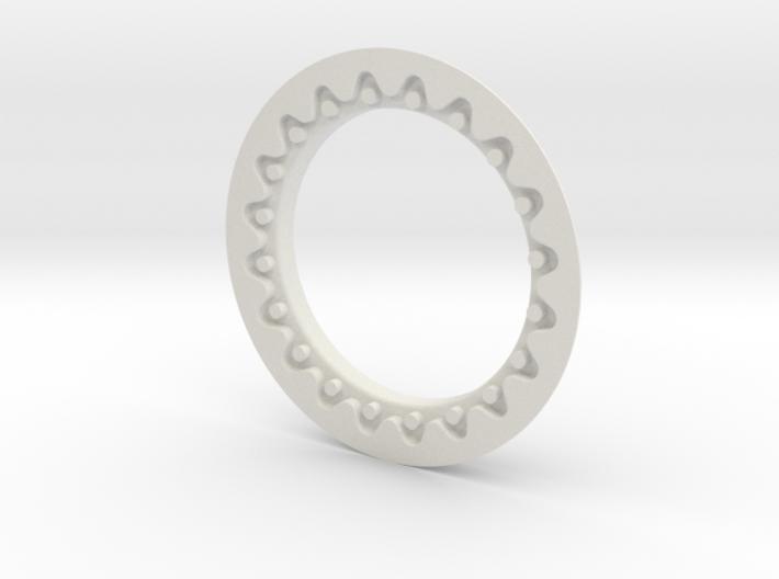 DE FAUX BEADLOCK RING (Single) 3d printed