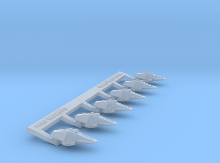 Omni Scale Hydran Super-Stinger Heavy Fighters CVN 3d printed