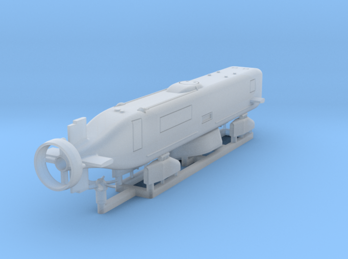Advanced SEAL Delivery System, 1/192 scale 3d printed