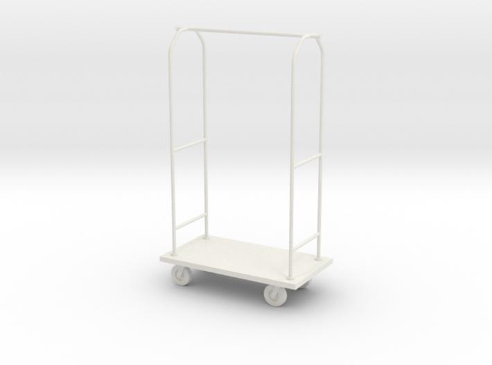 1:24 Luggage Cart 3d printed