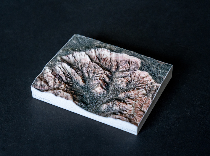 Bryce Canyon, Utah, USA, 1:25000 3d printed