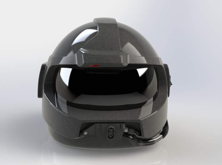 Airwolf Supercopter 3D Helmet 1/6 scale including 3d printed