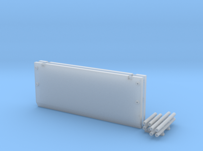 1:64 scale 20Ft Trench Box 3d printed