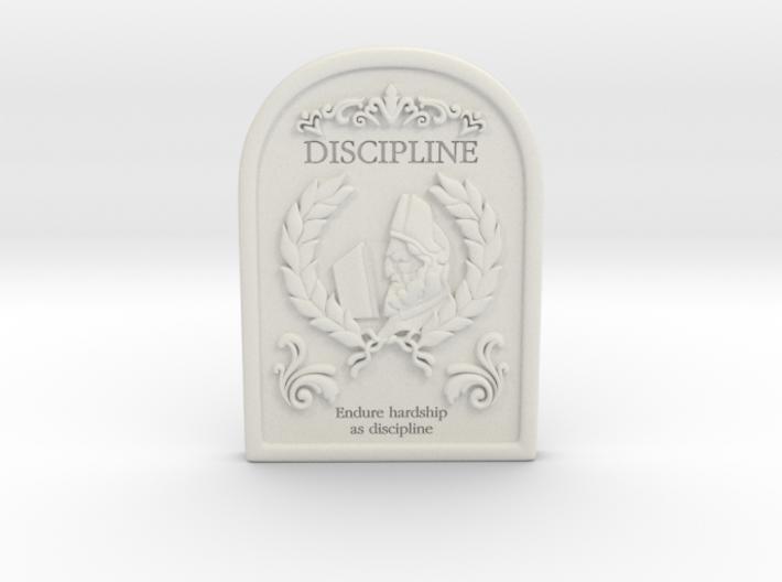 Resident Evil 0: Discipline tablet 3d printed