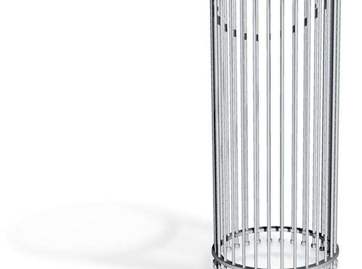 Transformable Hyperboloid 3d printed