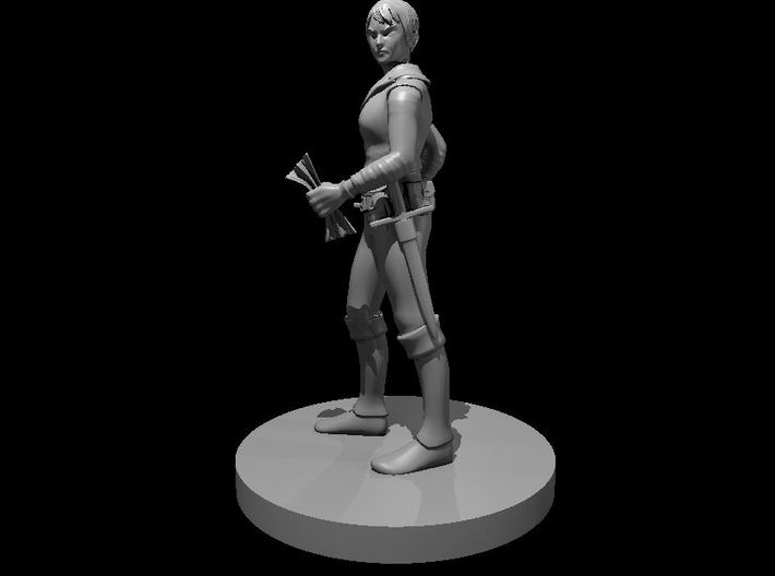 Human Female Forgery Rogue 3d printed