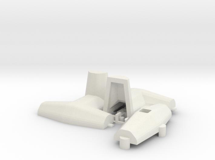 1:50 Dolos 3m mould kit 3d printed