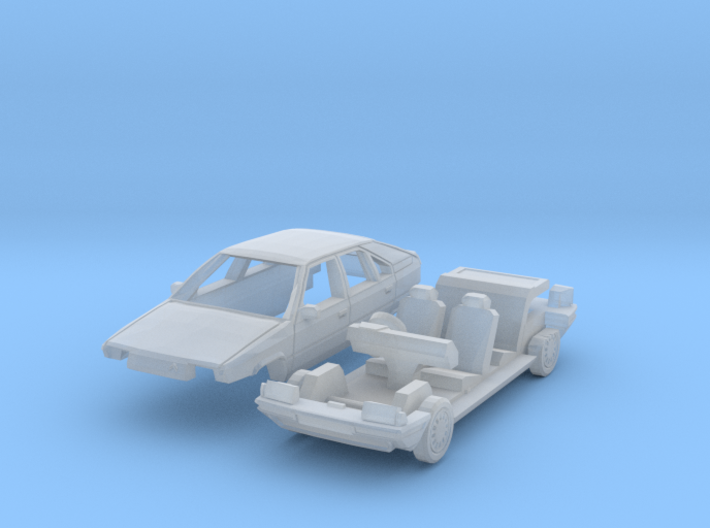 Citroën BX (British N 1:148) 3d printed