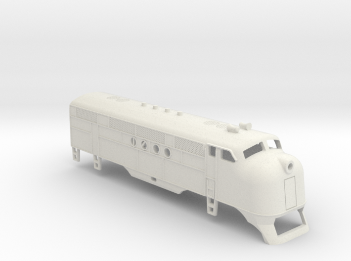 Z Scale EMC FT Locomotive Shell 3d printed