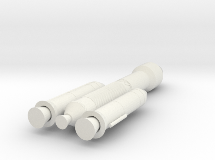 Chandrayaan 2 Rocket - 10cm 3d printed