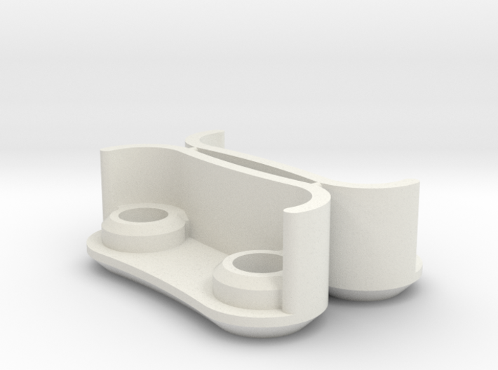 Screw Cover For 140mm Tesla Flat Spiral Coils 3d printed