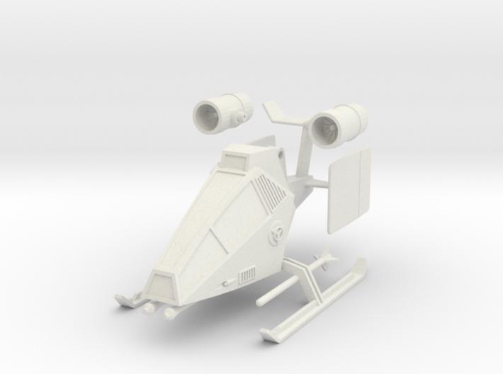 TA10 Light Attack VTOL (28mm) 3d printed