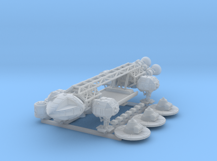 Space1999Eagle Cargo Freighter 3d printed
