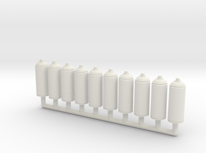 Spray Paint 400ml Ver01. 1:12 Scale. x10 Pack 3d printed