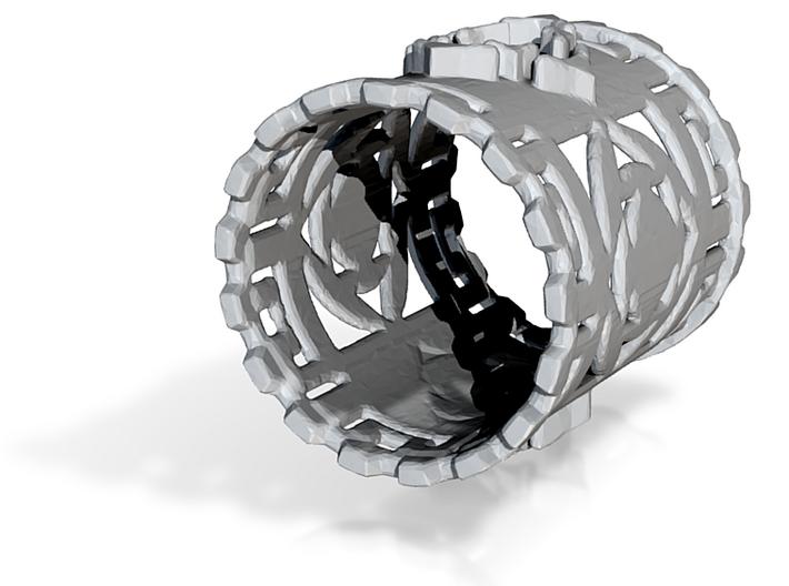 Mayan Ring 3d printed
