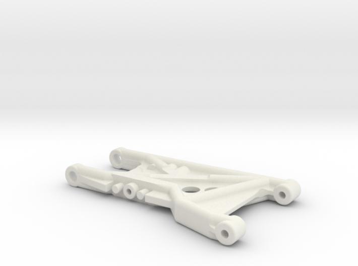 B4 Dyna Blaster / TR15T rear suspension arm 3d printed Brass Bushing Version