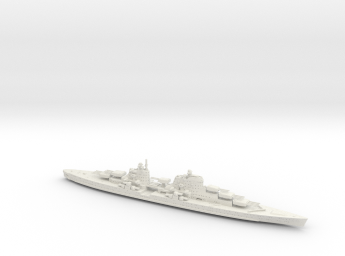 1/1200 HMS Beatty (Battleship of the Future 1940) 3d printed