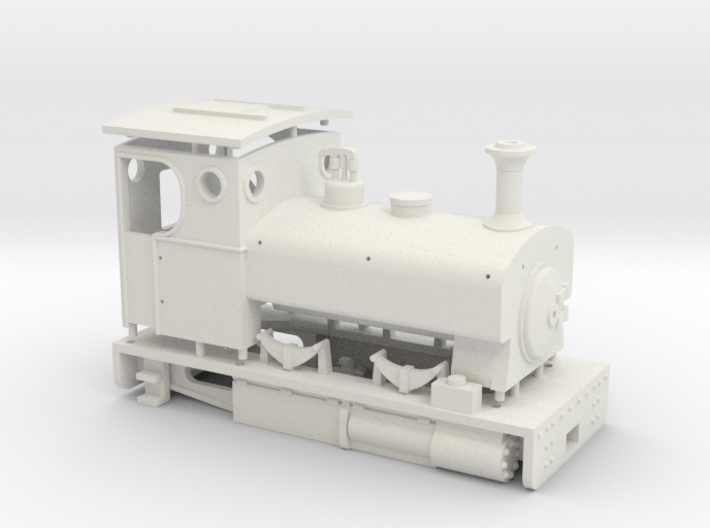 009 Andrew Barclay style tram engine 3d printed