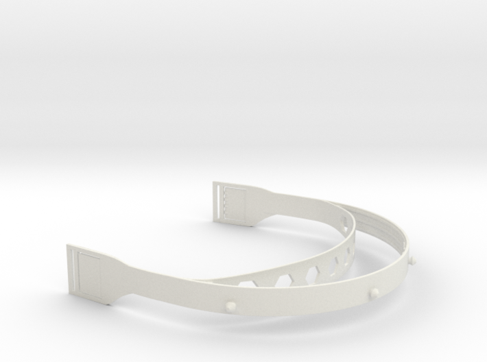 Shapeways Face Shield v2 3d printed