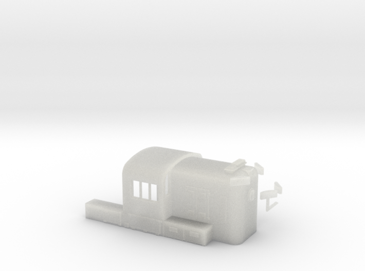 N Scale PRR RS3 Hammer Head 3d printed