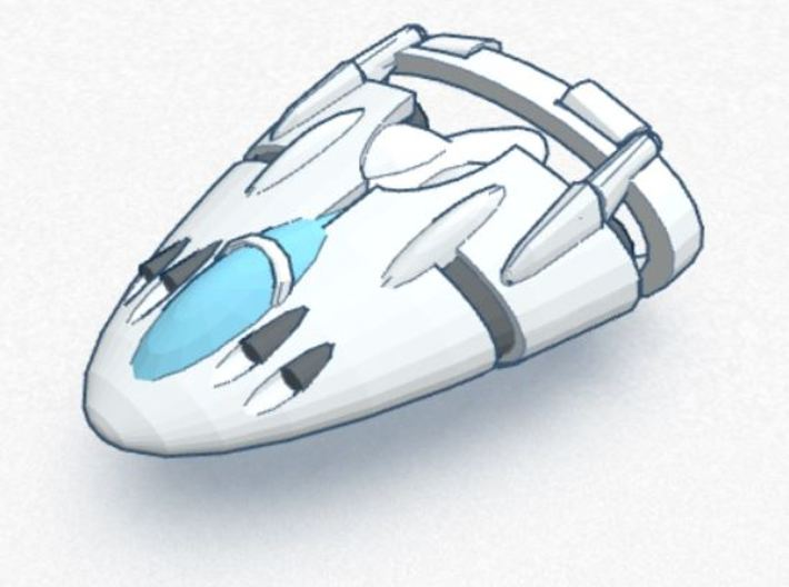 Slipstream I-C Advanced Tactical Fighter 3d printed 1-C Advanced Tactical Fighter
