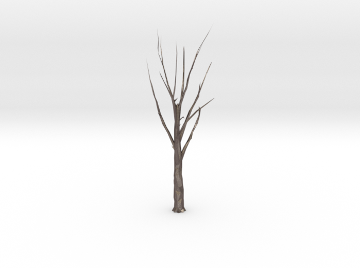 Tree Faceted - Clean 3d printed